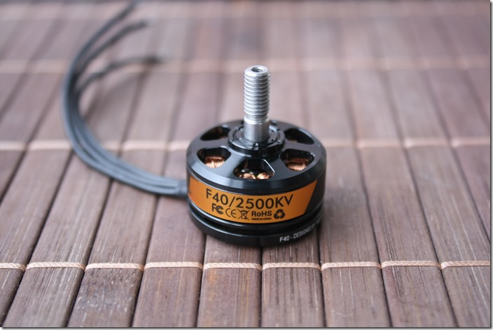 t motor f40 2500kv review part ii