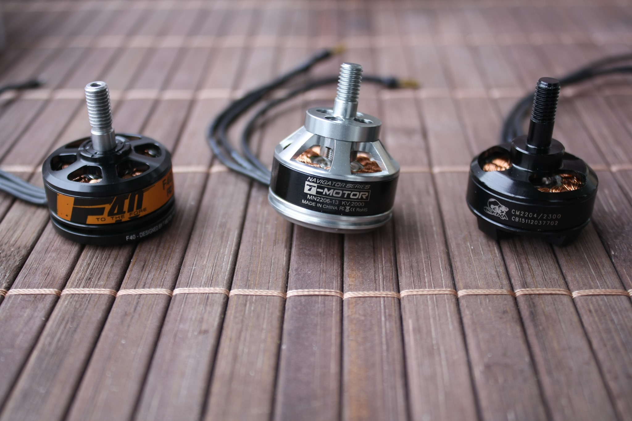 t motor f40 2500kv review part i