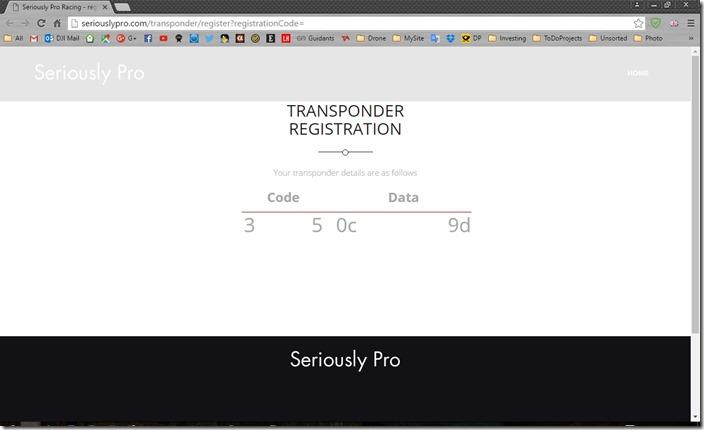 SPRacingF3EvoTransponderCode